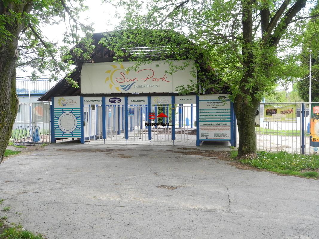 Letné kúpalisko na Sídlisku III.